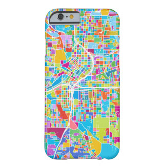 Colorful Atlanta Map Barely There iPhone 6 Case