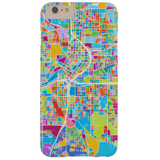 Colorful Atlanta Map Barely There iPhone 6 Plus Case
