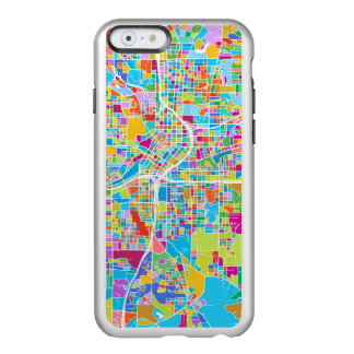 Colorful Atlanta Map Incipio Feather® Shine iPhone 6 Case