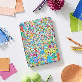 Colorful Atlanta Map iPad Air Cover