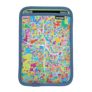 Colorful Atlanta Map iPad Mini Sleeve