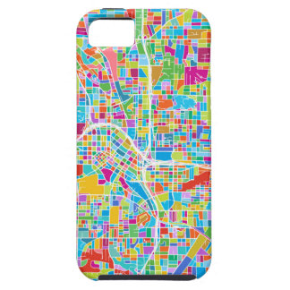 Colorful Atlanta Map iPhone 5 Cover