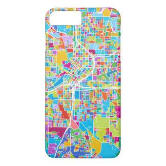 Colorful Atlanta Map iPhone 8 Plus/7 Plus Case