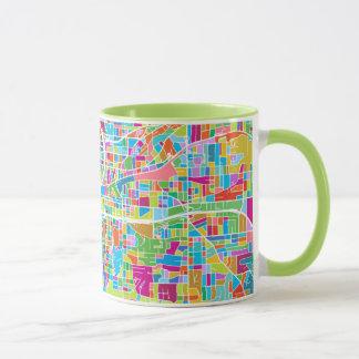 Colorful Atlanta Map Mug