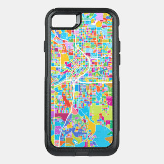 Colorful Atlanta Map OtterBox Commuter iPhone 8/7 Case