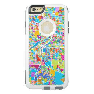 Colorful Atlanta Map OtterBox iPhone 6/6s Plus Case