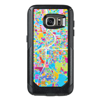 Colorful Atlanta Map OtterBox Samsung Galaxy S7 Case