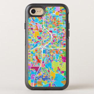 Colorful Atlanta Map OtterBox Symmetry iPhone 8/7 Case