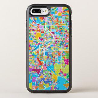Colorful Atlanta Map OtterBox Symmetry iPhone 8 Plus/7 Plus Case