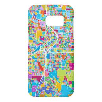 Colorful Atlanta Map Samsung Galaxy S7 Case