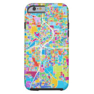 Colorful Atlanta Map Tough iPhone 6 Case