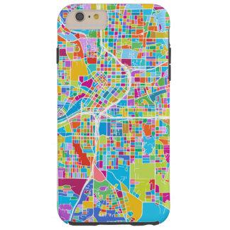 Colorful Atlanta Map Tough iPhone 6 Plus Case