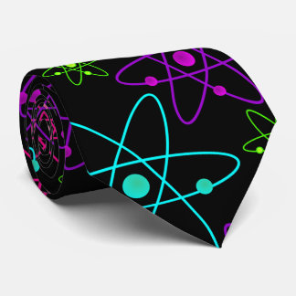 Colorful Atoms on Black Tie