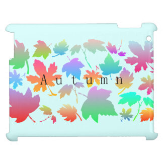 Colorful autumn leaves case for the iPad 2 3 4