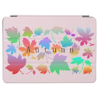Colorful autumn leaves iPad air cover