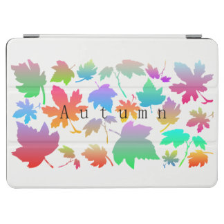 Colorful autumn leaves iPad air cover