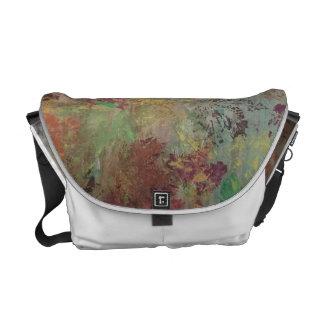 Colorful autumn messenger bag