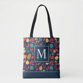 Colorful Autumn Seamless Ditzy | Tote Bag