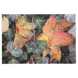 Colorful Autumnal Leaves Doormat