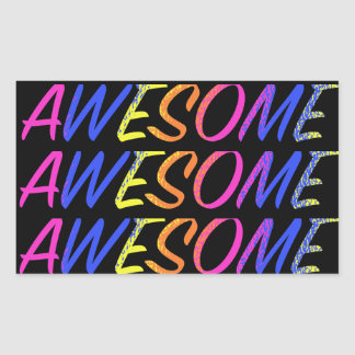 Colorful Awesome Stickers