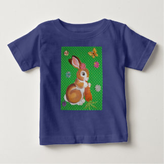 Colorful Baby Bunny Shirt for Babies and Kids