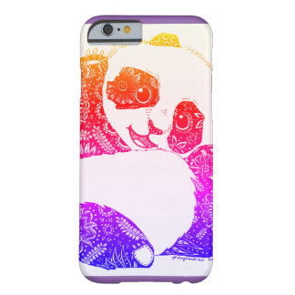 Colorful Baby Panda Barely There iPhone 6 Case