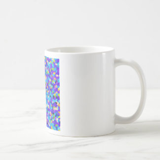 Colorful background coffee mug