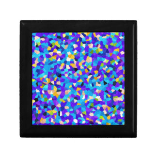Colorful background gift box
