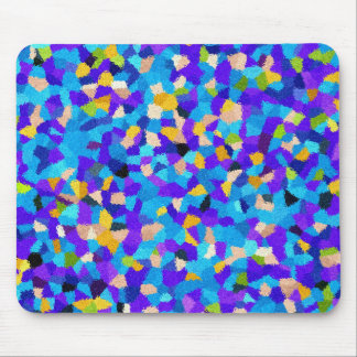 Colorful background mouse pad