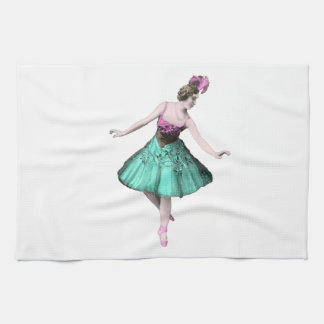 Colorful Ballerina Kitchen Towel