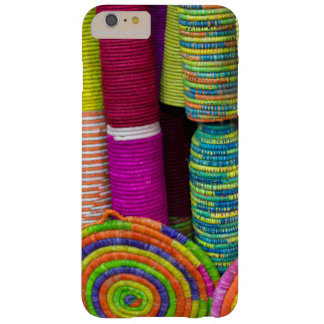 Colorful Baskets At Market Barely There iPhone 6 Plus Case