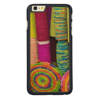 Colorful Baskets At Market Carved Maple iPhone 6 Plus Case
