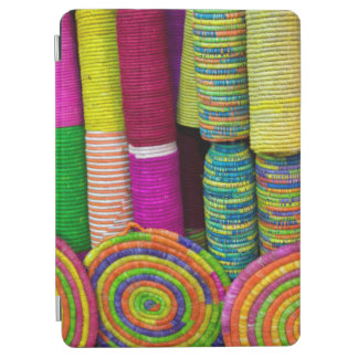 Colorful Baskets At Market iPad Air Cover