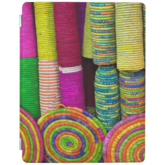 Colorful Baskets At Market iPad Cover