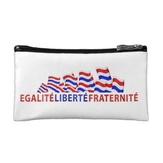 Colorful Bastille Day Design Cosmetic Bag