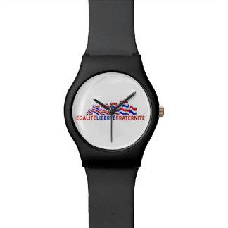 Colorful Bastille Day Design Watch