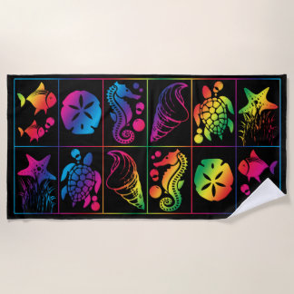 Colorful Beach Towel Designs