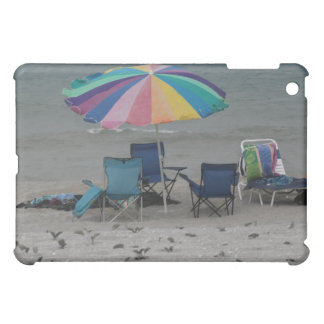 colorful beach umbrella dusty vintage style chair cover for the iPad mini