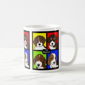 Colorful Beagles Pop Art Mug
