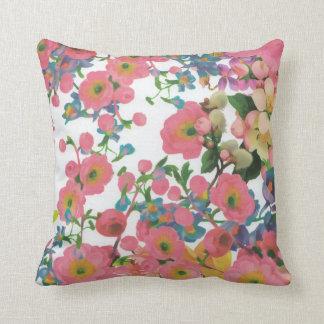 colorful beautiful flower decorative pillow