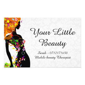 Colorful Beauty Girl Full Colour Flyer