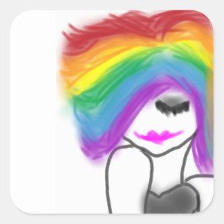 Colorful Beauty Sticker