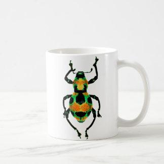 Colorful beetle mug