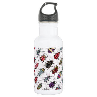 Colorful Beetles 532 Ml Water Bottle
