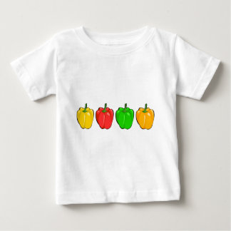 Colorful Bell Peppers Baby T-Shirt