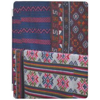 Colorful Bhutan Textiles iPad Cover