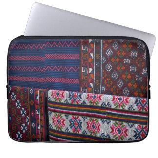 Colorful Bhutan Textiles Laptop Sleeve