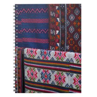 Colorful Bhutan Textiles Notebook