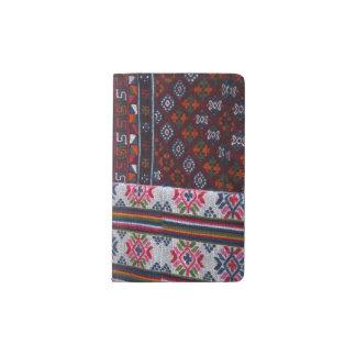 Colorful Bhutan Textiles Pocket Moleskine Notebook