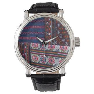 Colorful Bhutan Textiles Watch